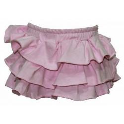 Falda rosa infantil